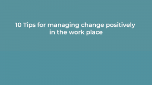 managing change video cover